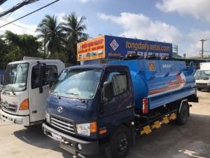 Xe tải HD99 6.5 tấn bồn xăng dầu- Hyundai Đô Thành bồn xăng dầu.