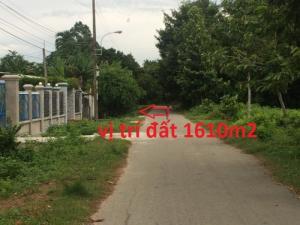 Bán Đất thổ cư mặt tiền Phạm Thị Liền H.Củ Chi 25m x 64m giá 70 triệu/1m ngang
