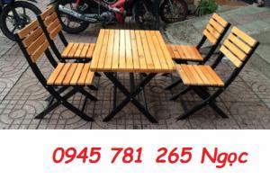 Thanh lí gấp 45 bộ bàn ghế cafe