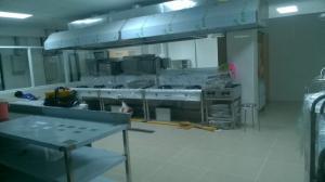 thiết kế bếp nhà hàng, bếp trường học tại quy nhơn