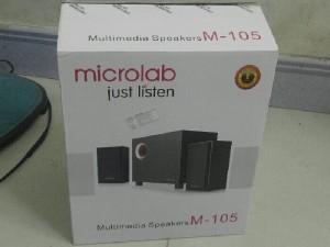 Loa vi tính microlab M 105 mới 100%
