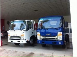 xe JAC 3.45 tấn đầu vuông, đặt 50tr lấy xe ngay
