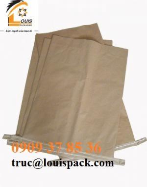 Chuyên bao giấy KRAFT: đựng cà phe, tiêu, hóa chất, ....