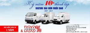 Tri ân khách hàng Khuyến mãi khủng khi mua xe tải suzuki  tặng trước bạ, bảo hiểm thân xe
