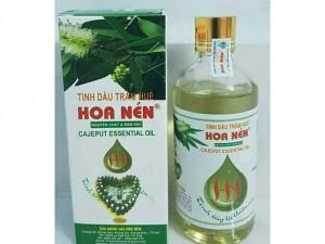 Tinh dầu Tràm Hoa Nén - tinh dầu trị ho