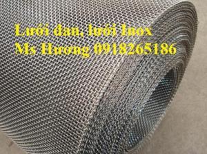 Lưới chống muỗi, lưới chống chuột, lưới Inox 304, inox 316, lưới dệt, lưới đan… giao hàng tận nơi
