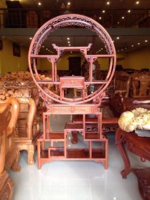 Kệ trưng bày gỗ hương việt nam