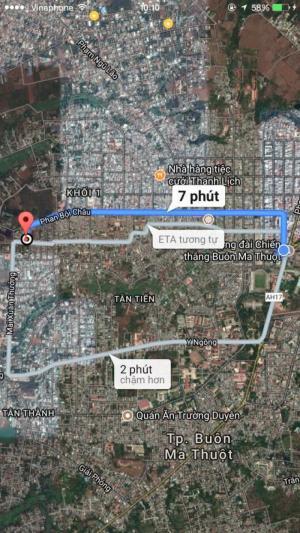 Bán lô đất biệt thự 10*21 thổ cư 100% gần khu đấu giá Mai Xuân Thưởng