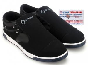 Giày thể thao nam Huy Hoàng màu đen MH7601