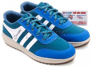 Giày thể thao nam Huy Hoàng cột dây màu xanh...