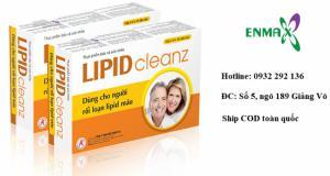 Lipid Cleanz giúp làm giảm Cholesterol máu, ngăn ngừa xơ  vữa mạch