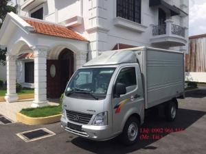 Xe tải Ấn độ thùng kín 1t2 máy dầu,mới 100%