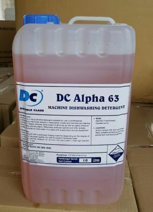 hóa chất rửa chén dc63 nhập khẩu malaysia có màu vàng ngà