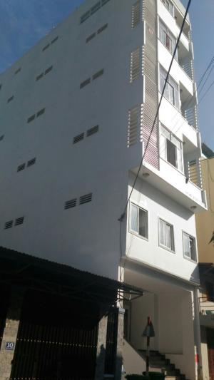 Bán tòa nhà 6 lầu 39 phòng cho thuê 140tr/ tháng đường Lý Phục Man, Quận 7