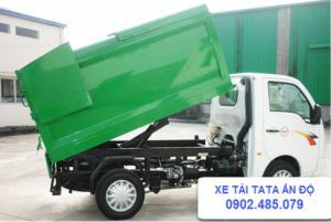 Xe tải TaTa chở rác cam kết chất lượng cao