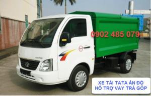 Xe thu gom rác TaTa 3,4 khối nhập khẩu Ấn Độ