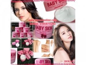 Kem Dưỡng Trắng Trang Điểm Body Baby Skin (500g)