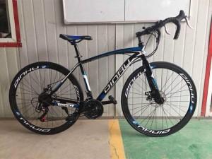 Xe đạp cuộc 700c DINHU size XL - Hàng công ty tặng 5 món theo xe