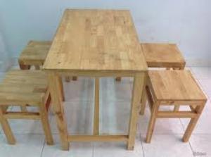 ghế gỗ đôn giá rẻ cafe