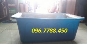 Bán thùng nhựa vuông-thùng nhựa đựng nước nuôi cá.