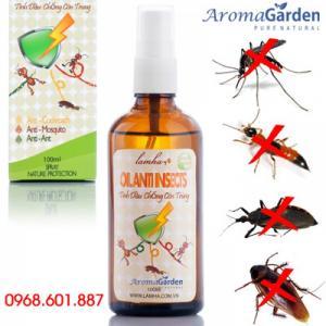 Tinh dầu chống côn trùng, đuổi muỗi