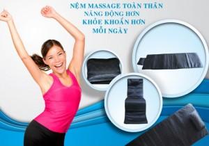 Nệm Massage toàn thân Lazybag xóa tan các cơn nhức mỏi giúp tinh thần sảng khoái - MSN388284