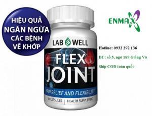Labwell Flex Joint giúp tại tạo sụn khớp, ngăn ngừa thoái hóa mô sụn