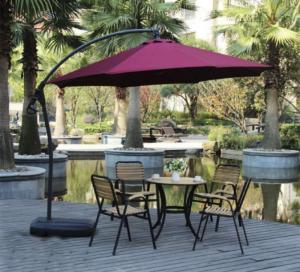 ô dù cafe ngoài tính năng sử dụng che mưa nắng, nó còn là vật dụng trang trí