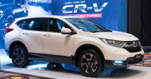 HONDA CRV 2018 với nhiều ưu đãi tốt khi đặt cọc xe trong tháng 11 tại Quảng Bình