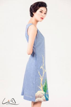 Các mẫu đầm công sở đẹp Sài Gòn vô cùng đẹpp
