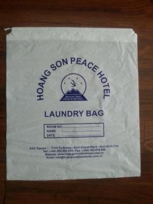 Chuyên sản xuất và cung cấp Túi giặt là một lần, in logo khách sạn, resort