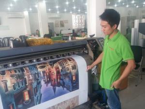 Dịch vụ in tranh sơn dầu với kỹ thuật in 3D trên nền vải Canvas (vải vẽ tranh sơn dầu) mọi kích thước, số lượng theo yêu cầu đặt in từ khách hàng