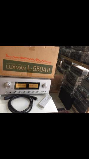 Chuyên Bán ampli Luxman L505SII hàng bải