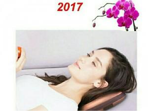 Gối matxa 8 bi hồng ngoại