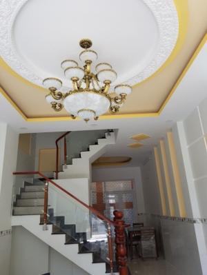 Bán nhà Nhà Bè hẻm 1982 Huỳnh Tấn Phát DT 4m x 14m, 2 lầu, 4 Pn, Giá 2.8 tỷ