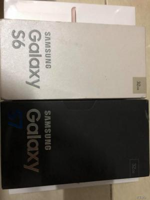 Samsung galaxy S7 & galaxy S6 32G black & gold new 100% USA giá tốt