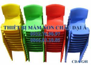 Ghế nhựa giá rẻ dành cho các trường mầm non