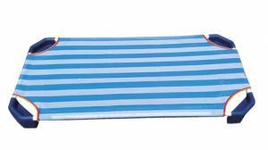 Giường ngủ vải lưới bọc màu xanh giá rẻ bất ngờ dành cho trẻ