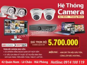 Camera trọn bộ giá rẻ