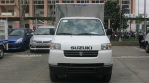 Xe tải nhẹ Suzuki 750kg thùng kín, Giá tốt nhất Sài Gòn. Gọi ngay: 0903.003.617