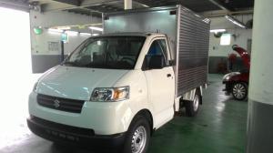 Xe tải Suzuki 750kg thùng kín Inox, Hỗ trợ...