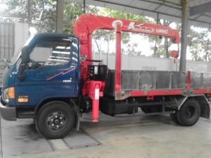 Xe tải HD99 Hyundai - Gắn cẩu 3T 4 đốt