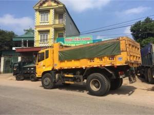 Bán xe tải ben dongfeng hoàng huy 8 tấn 2015 xe cũ đã qua sử dụng giá tốt