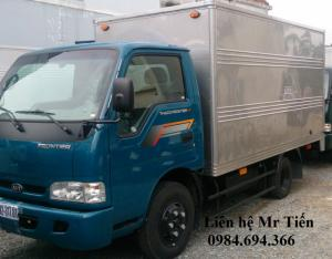 Thaco tải Kia 1,25 tấn đủ các loại thùng bạt, kín liên hệ để có giá ưu đãi, hỗ trợ trả góp
