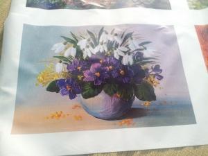 Tranh in canvas số lượng ít tại xưởng in tranh canvas In Kỹ Thuật Số
