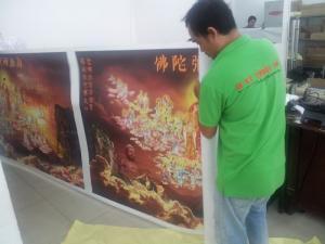 In Kỹ Thuật Số nhận in tranh canvas TPHCM số lượng lớn, in canvas khổ lớn