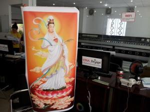Tranh phòng thờ - In tranh trang trí phòng thờ - in canvas giá rẻ TPHCM