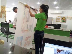 In canvas giá rẻ TPHCM, chuyên in vải bố, vải canvas chuyên nghiệp tại TPHCM