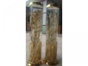 Rươu đinh lăng điêu khắc