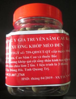 Bán sản phẩm Cao Mèo Đen Bắc Long- chữa bệnh Gout, giảm nhức mỏi